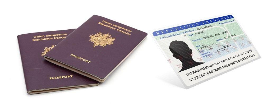 passeport et carte d identité Carte d'identité / Passeport